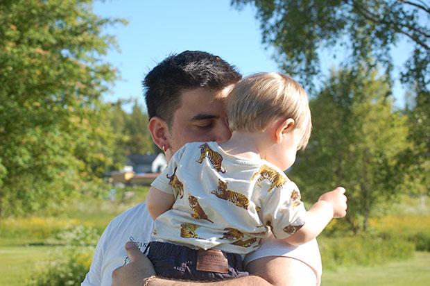 Pappa och Theodor
